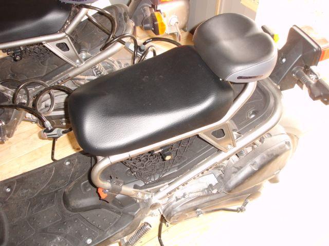 Ruckus Central My Buddy Seat Idea Barber Chair Motorcycle Bike Bike