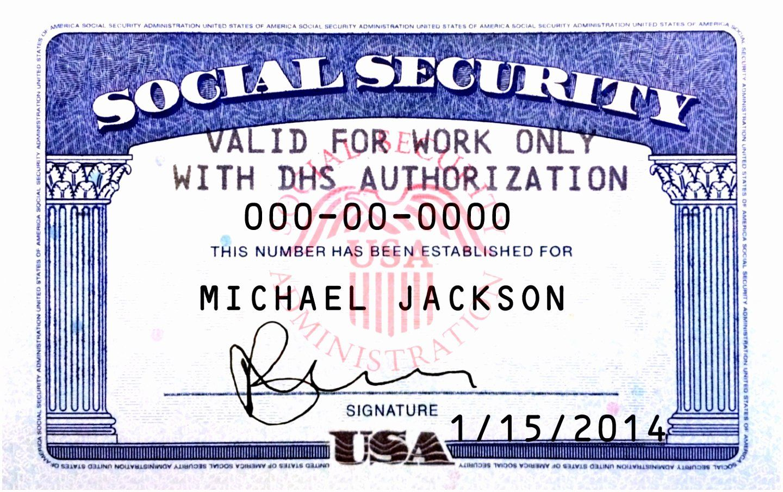 Social Security Card Template Photoshop Unique 5 Make A Social Security Card Template Oepit In 2020 Id Card Template Social Security Card Card Template