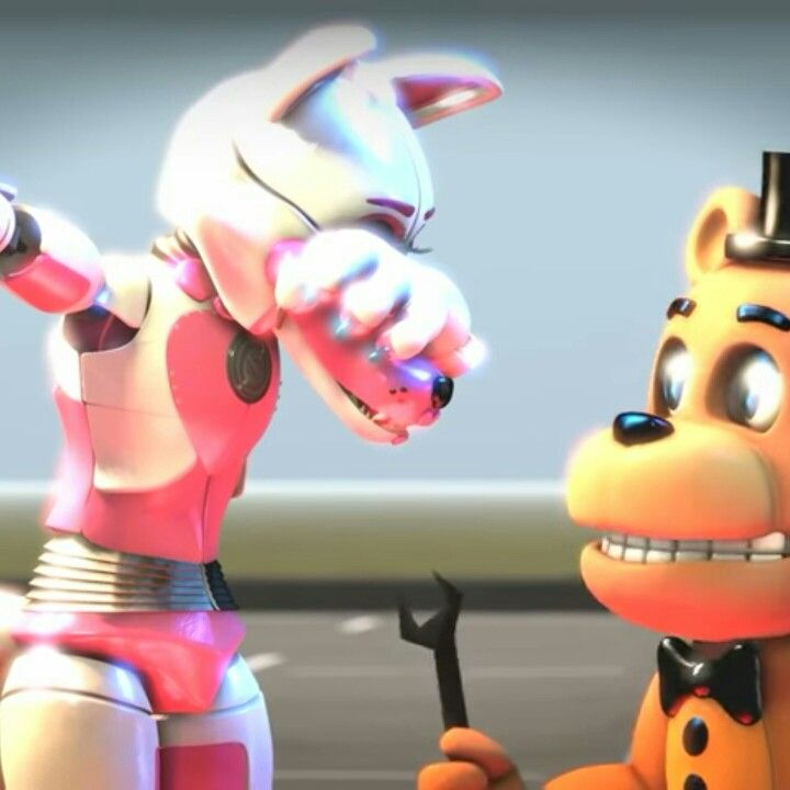 Funtime Foxy Is Doing The Dab!!!! EVERYONE DAB WITH