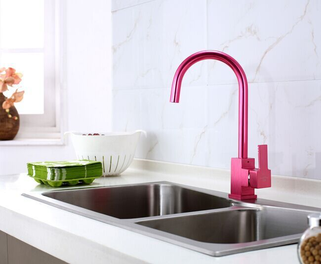 Buy Special Red Kitchen Faucet At Bathselect Lowest Price