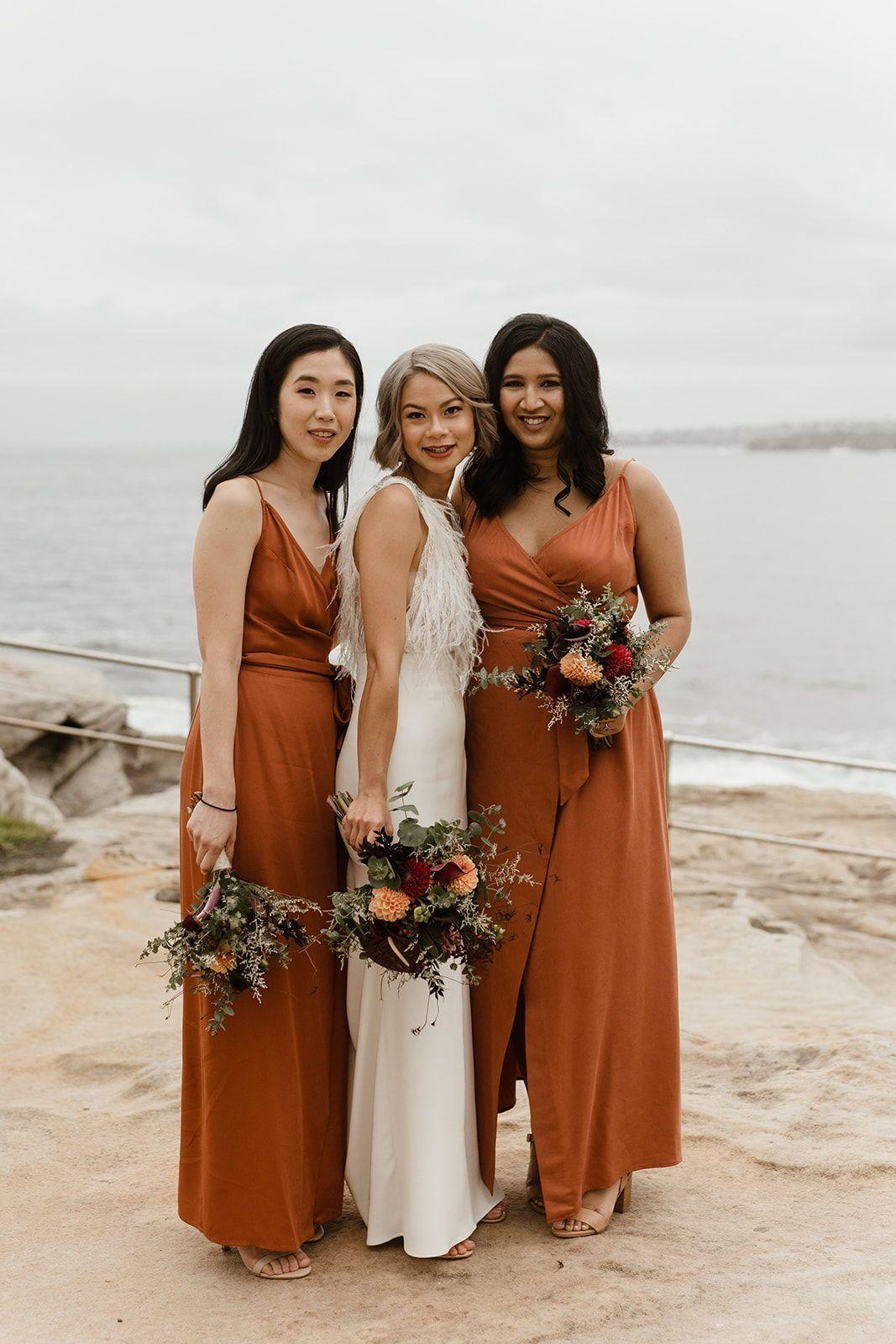 Johan Dasha Three Blue Ducks Wedding Kelly Jury Orange Bridesmaid Dresses Burnt Orange Bridesmaid Dresses New Wedding Dresses [ 1600 x 1067 Pixel ]