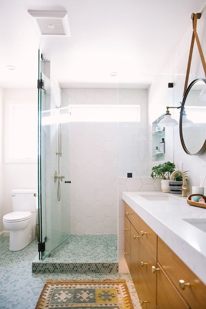 This Dramatic Bay Area Bathroom Remodel Is Giving Us Life Bathroom Beauteous Bathroom Remodeling Bay Area