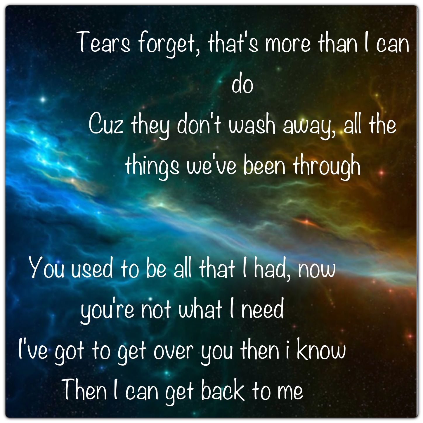 Back to me by 3 doors down