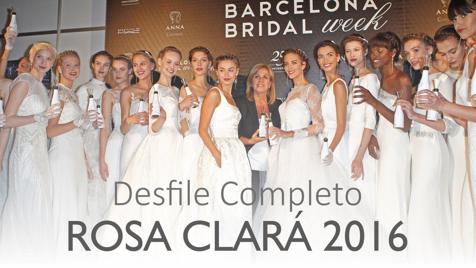 Rosa Clará 2016: Desfile Colección Novias Completo
