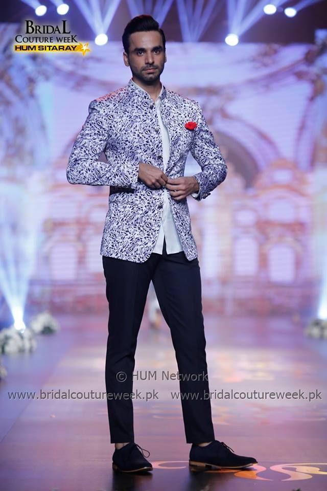 Printed jacket by amir adnan formal dress for men