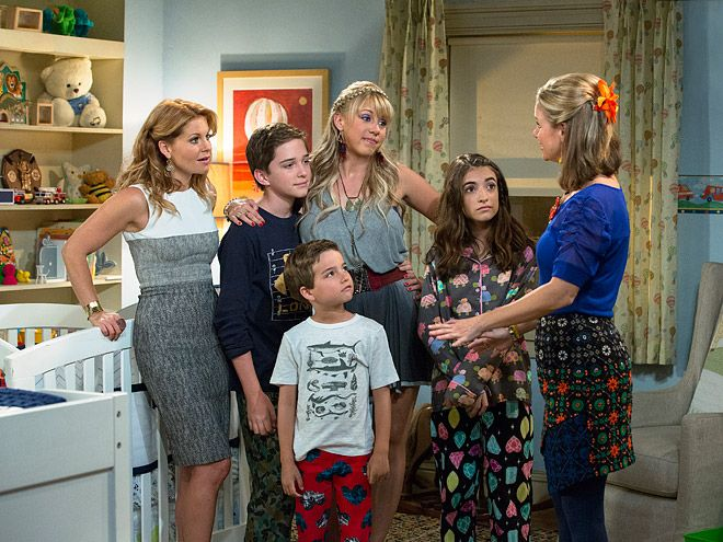 PHOTOS: See The First Shots From Fuller House!