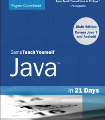 Sams Teach Yourself Java In 21 Days Pdf With Images Online