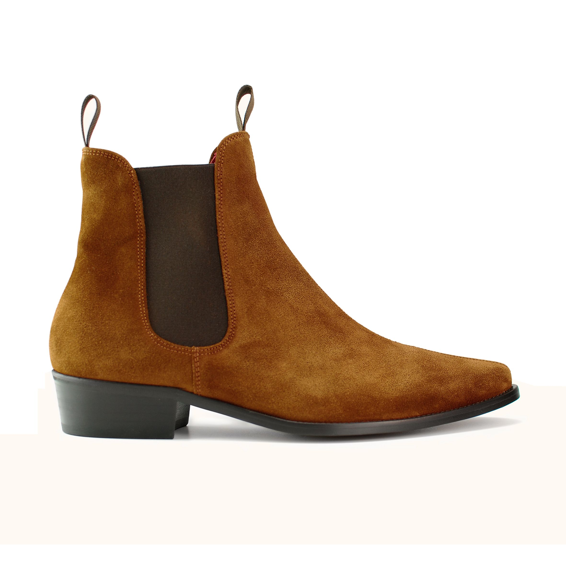 classic suede boot coloured beatle boots at beatwear