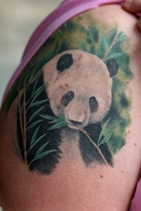 Panda Tattoo - this is beautiful