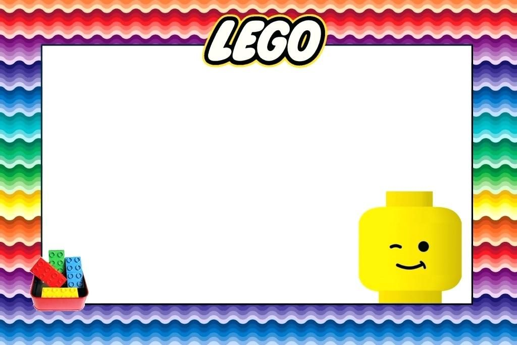 Lego Birthday Invitation Unique Lego Birthday Invitation Invitaciones De Cumpleanos De Lego Fiesta De Cumpleanos Lego Plantillas Para Invitacion De Cumpleanos