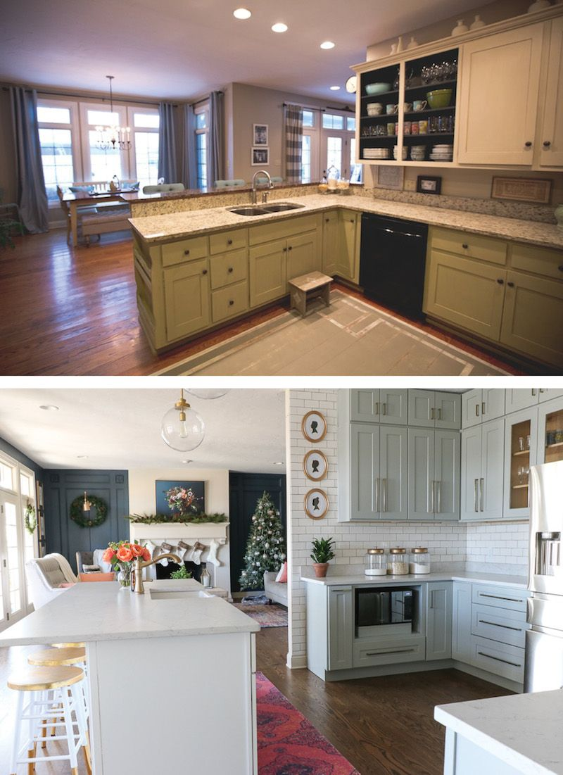 Diy Kitchen Remodel And Rta Cabinets Sincerely Sara D Home Decor Diy Projects Kitchen Remodeling Projects Diy Kitchen Remodel Kitchen Remodel