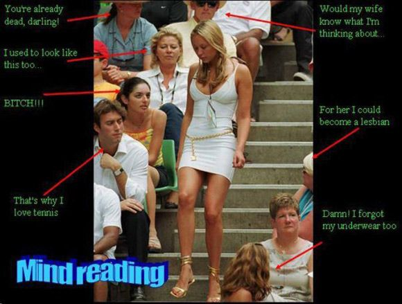 That S Why I Love Tennis Funniest Mind Reading Picture Funny Reading Quotes Reading Humor Funny Captions