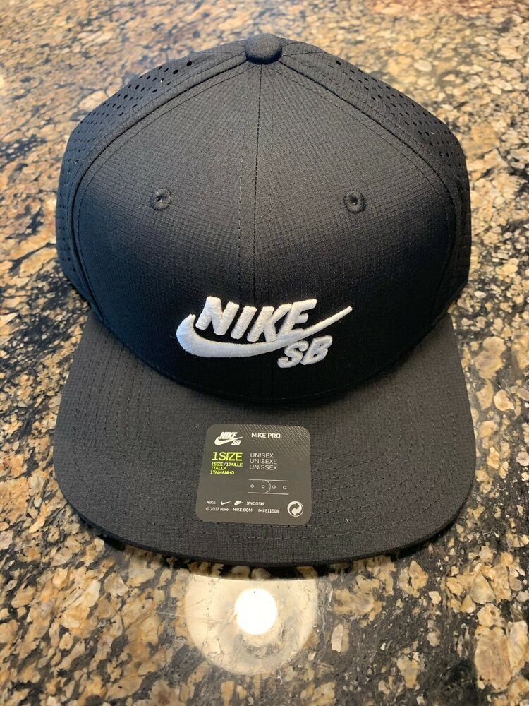 99556382b Nike SB Aero Performance Trucker Hat Black 629243-010 #Nike ...