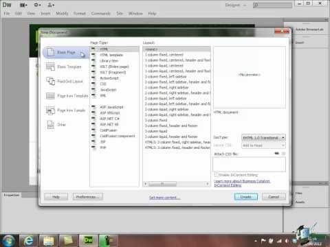 Dreamweaver Cs6 Tutorial Creating A Website Part 1 Online Web Design Web Design Quotes Web Design