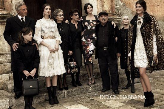 Dolce & Gabbana Fall / Winter 2012 / 2013 Ad Campaign Starring: Bianca Balti, Monica Bellucci, Bianca Brandolini  Shot by Photographer: giampaolo sgura