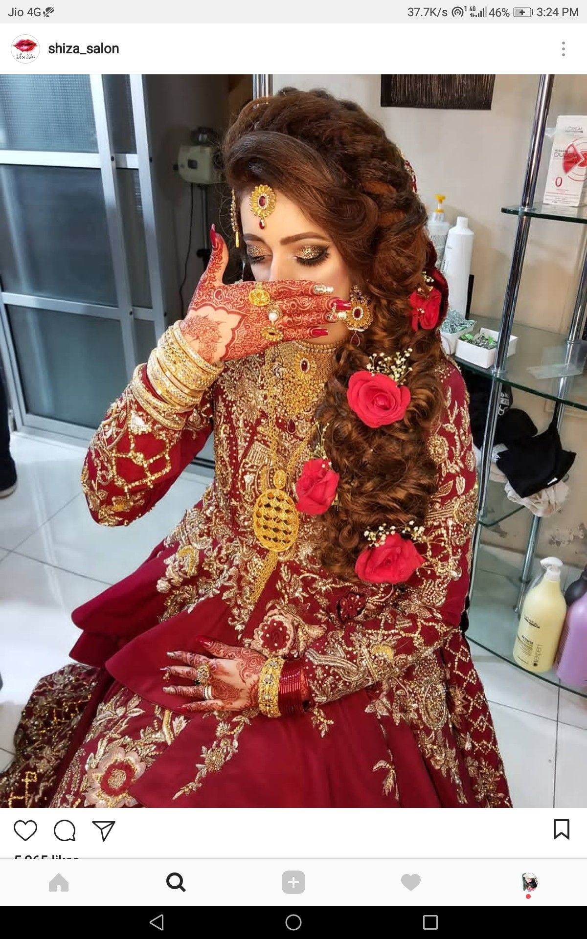 Pin By Princess Khan On Beautiful Hairstyles Gorgeous Bridal