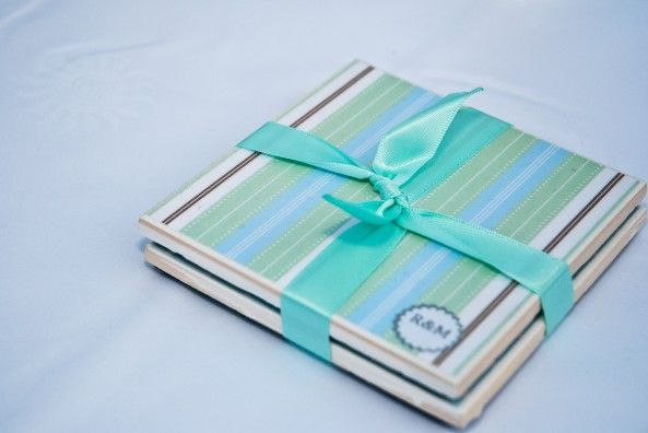 Make Your Own Tile Coasters To Give Away At Your Wedding