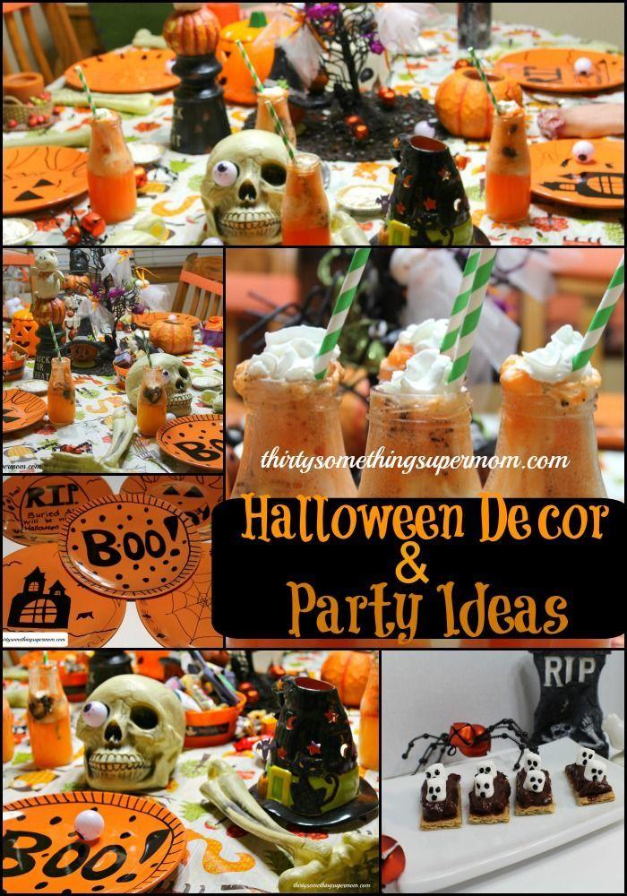 Spooky Halloween Party  Tablescape Ideas Pinterest Spooky - fun halloween party ideas
