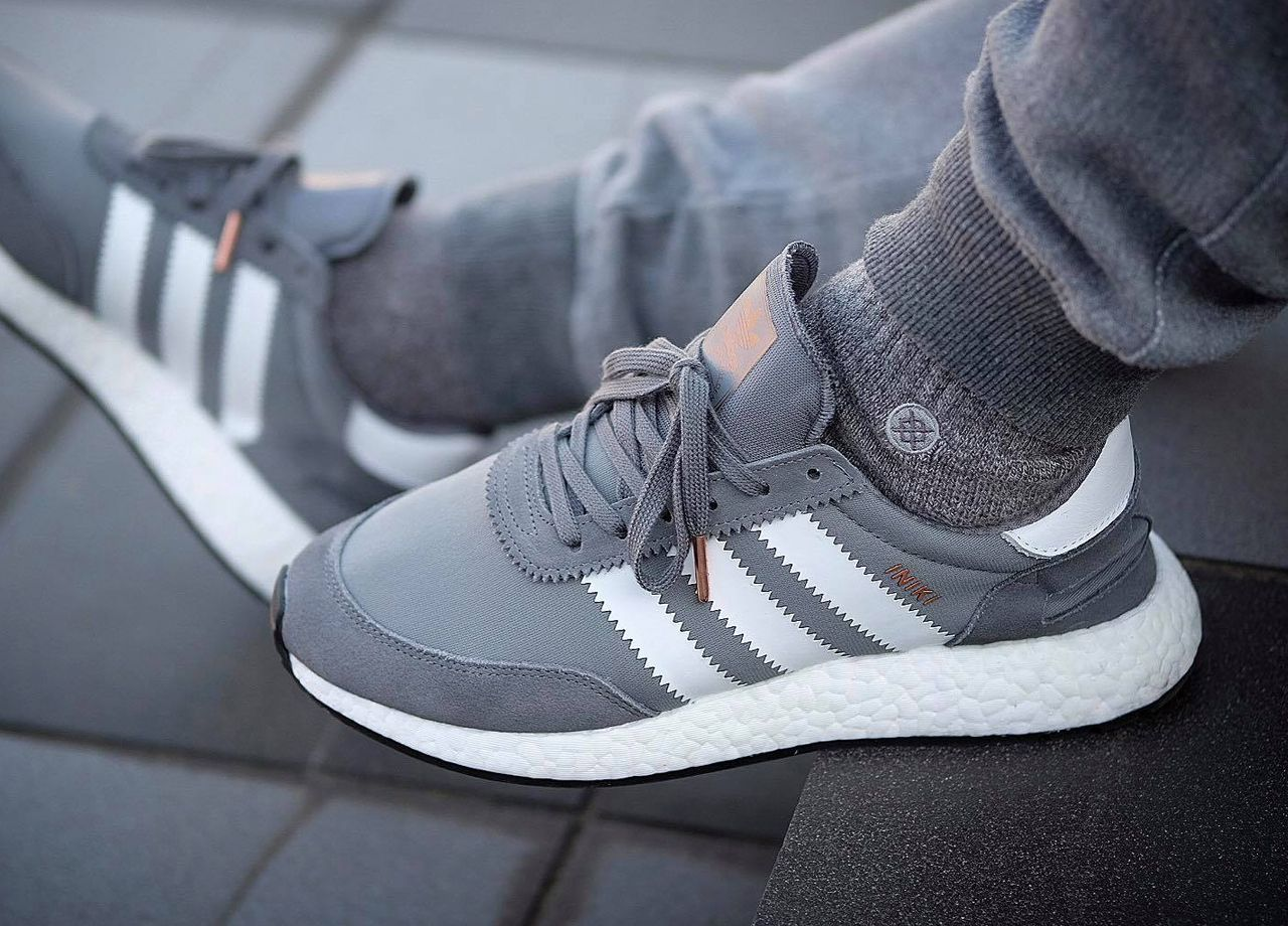 Adidas Iniki Runner Boost - Vista Grey - 2017 (by Tj Mortel)