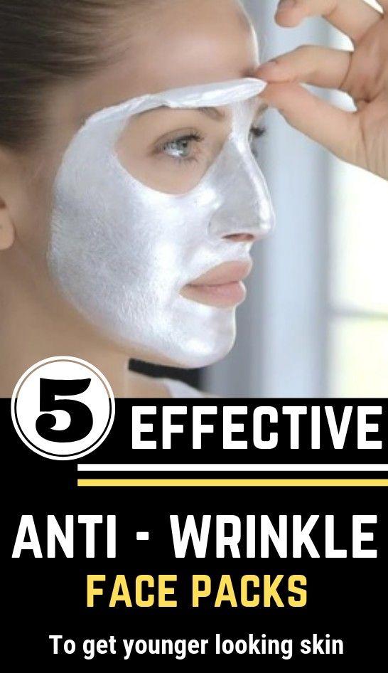 5 wirksame natürliche Anti-Falten-Gesichtsmasken