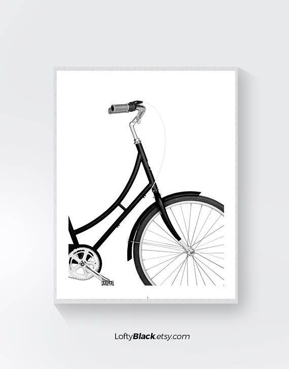 Items similar to bike poster cycling poster bike print bicycle art bicycle