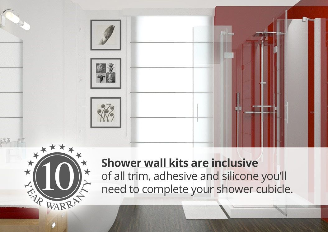 Proclad Shower Wall Panel Kits Shower Wall Kits Shower Cubicles