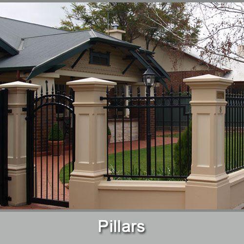 Adelaide Fence Centre Design Manufacture Construct House Gate Design House Fence Design Balcony Railing Design