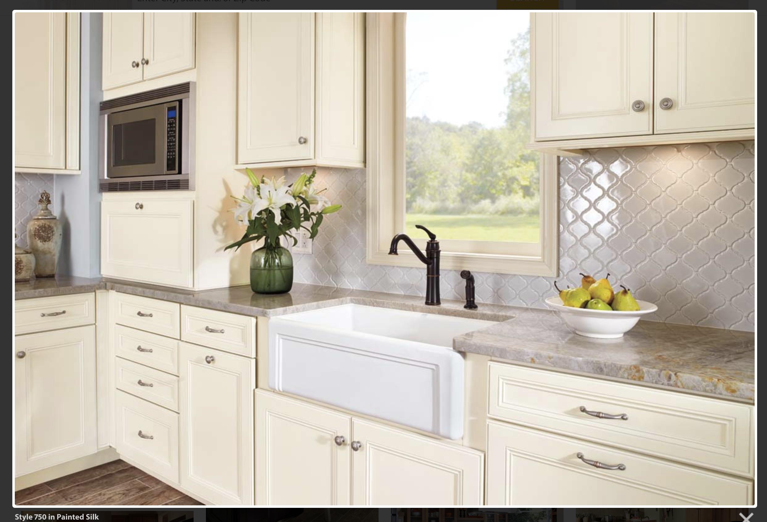 Best Waypoint 750 Painted Silk Kitchen Cabinets Kitchen 400 x 300