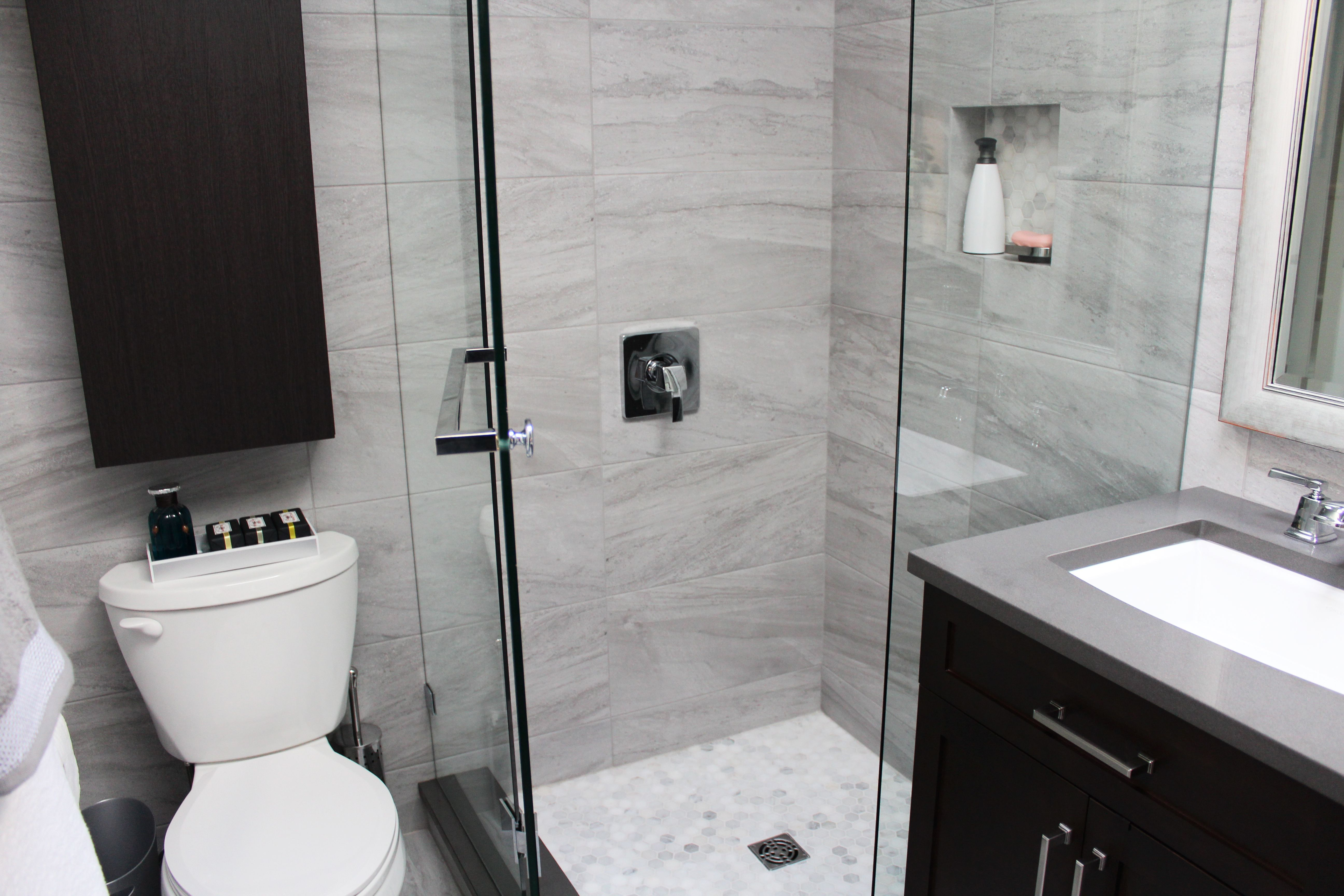 Beautiful Bathroom Renovation Project Featuring 12