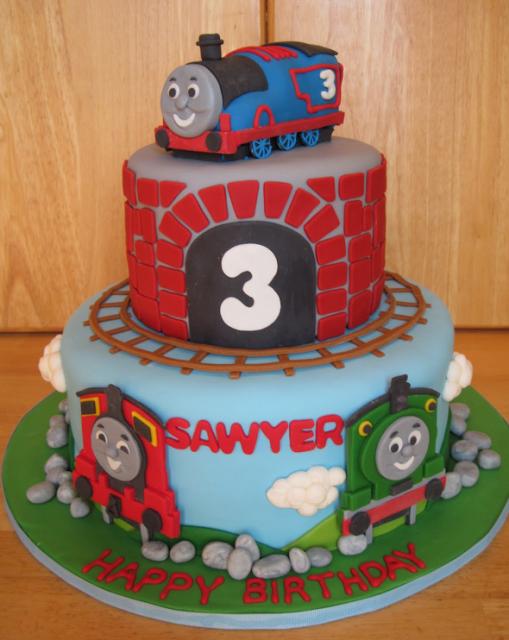 Fabulous Thomas The Train Round Cake Google Search Thomas And Friends Birthday Cards Printable Opercafe Filternl