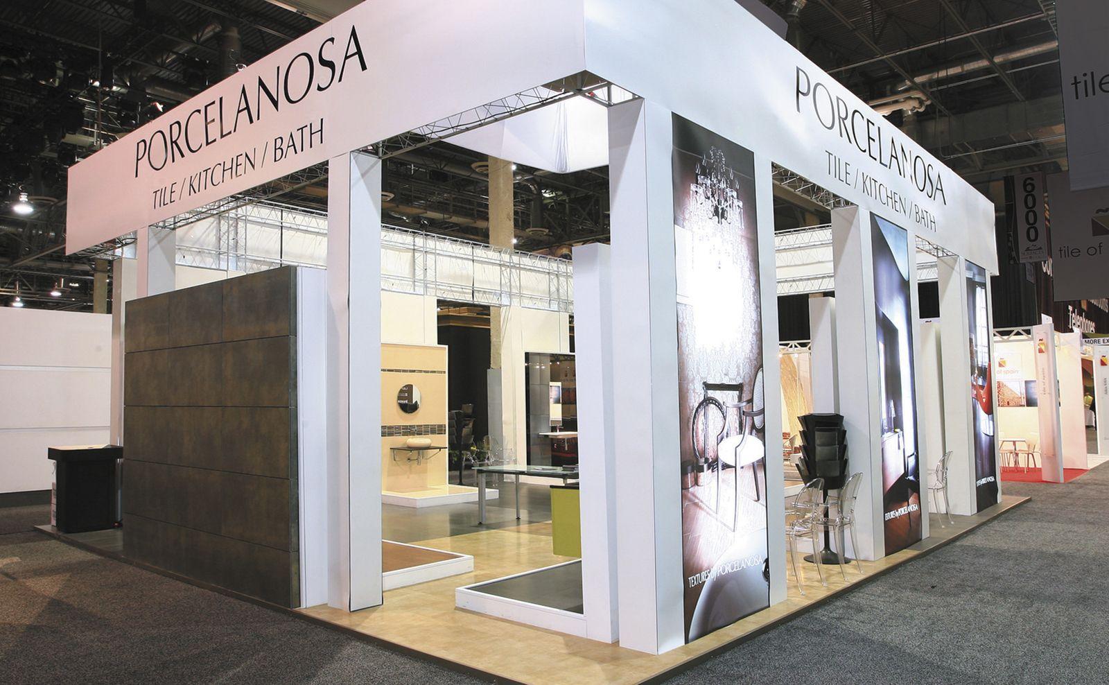 Porcelanosa Trade Show Exhibit Design | Island Exhibits | Pinterest ...