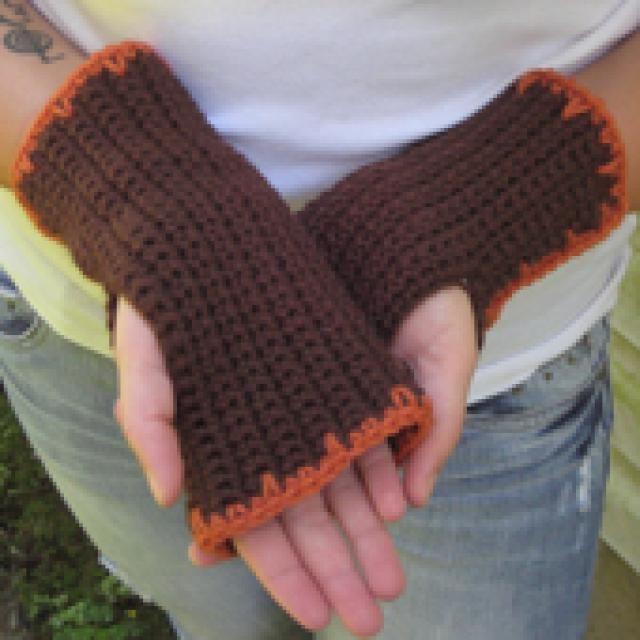 Free Crochet Fingerless Gloves Patterns Wrist Warmers Crochet And