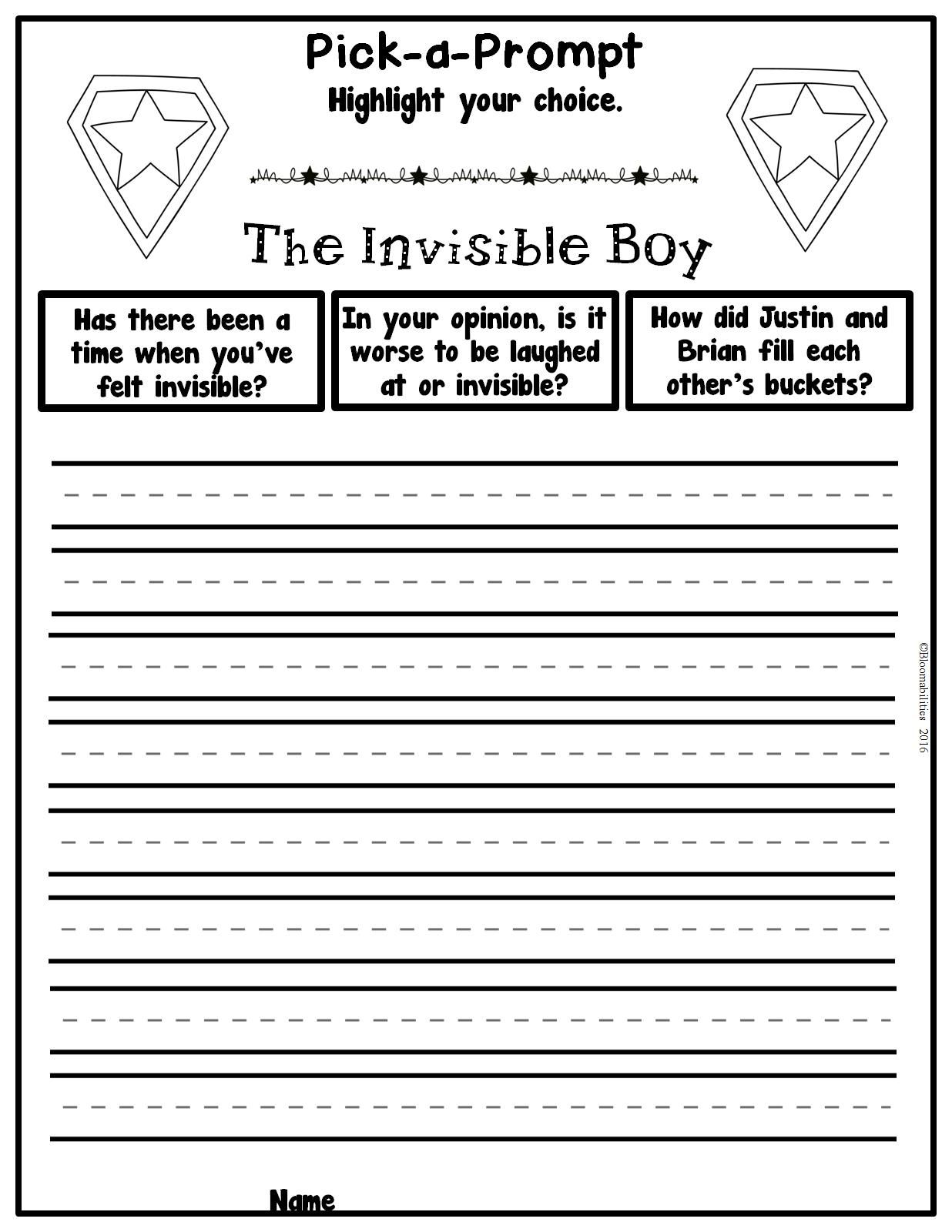 The Invisible Boy Is The Perfect Book To Start A