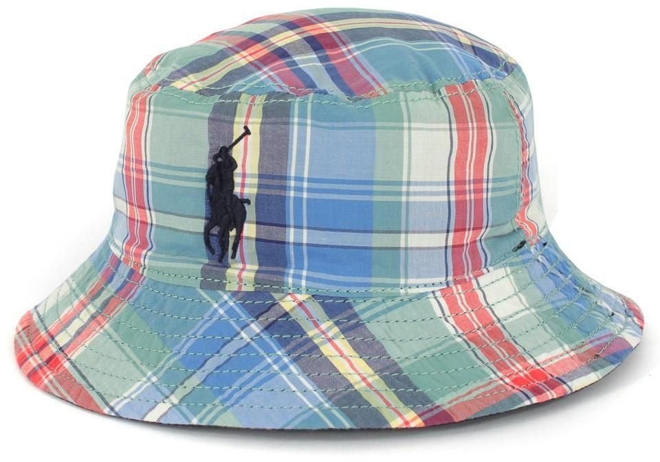d36235a17e6 Ralph Lauren Boys Big Pony Bucket Hat