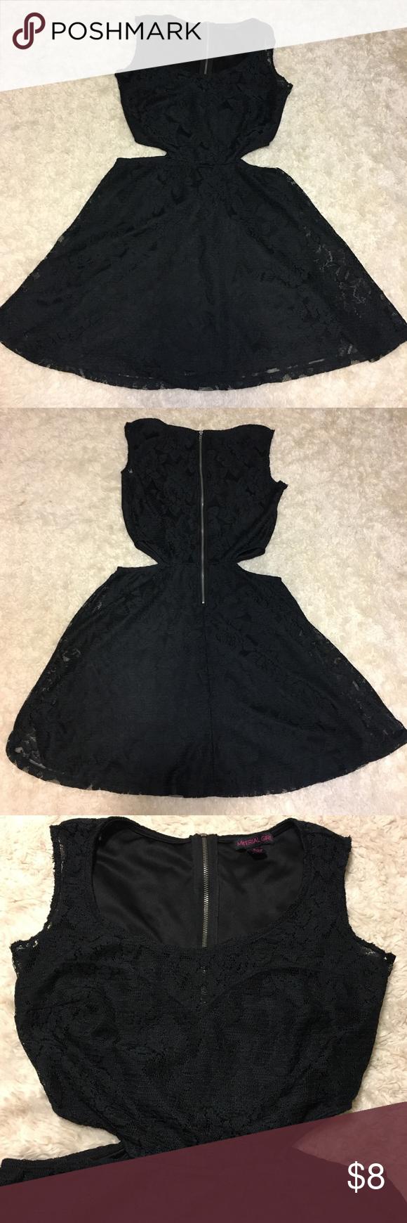 Black lace dress in my posh picks pinterest lace dress