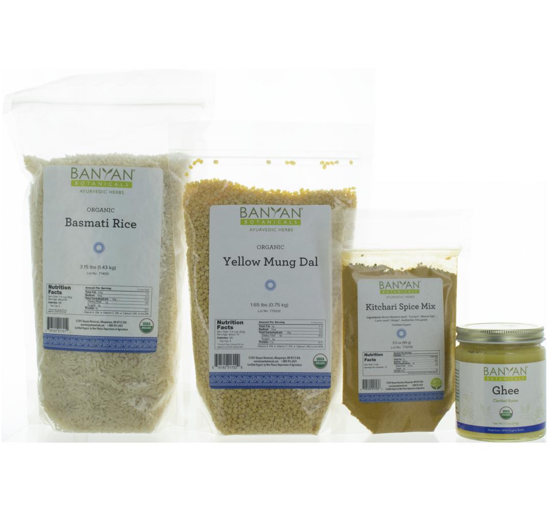 Kitchari Kit Kitchari Spice Mixes Organic Rice