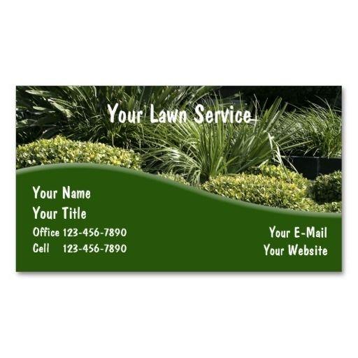 Landscaping Impressive Landscape Business Cards