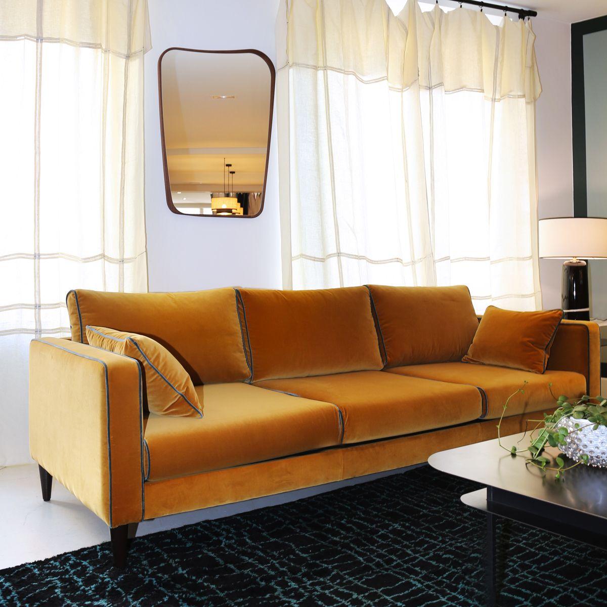 Le Canape Piece Maitresse Du Salon Pour Votre Deco