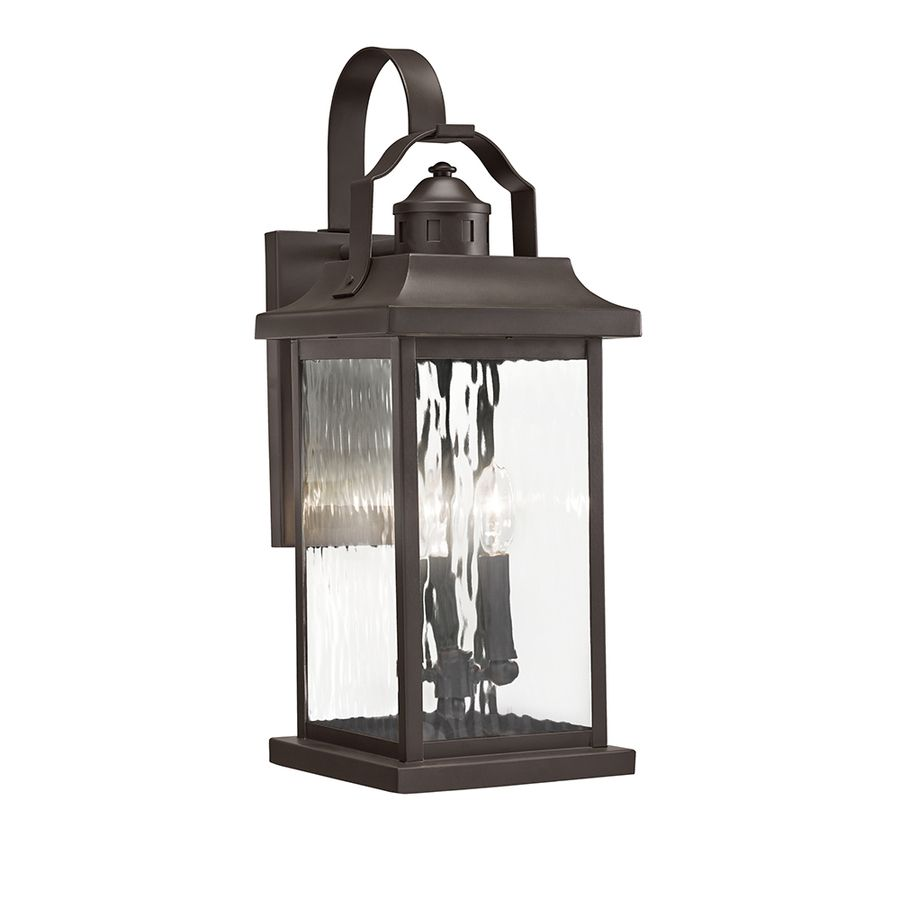 Kichler Lighting Linford 22 2 in H Olde Bronze Outdoor Wall LightKichler Lighting Linford 22 2 in H Olde Bronze Outdoor Wall Light  . Kichler Lighting Outdoor Sconce. Home Design Ideas