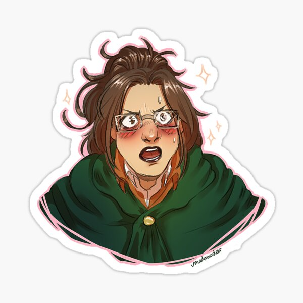 Hanji Stickers in 2020 Pride stickers, Attack on titan