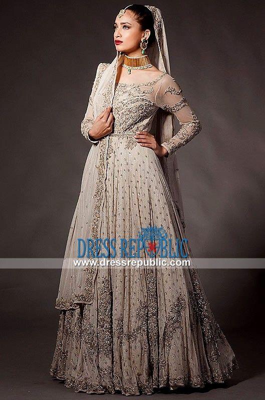 Pakistani Shadi Dresses with Sleeves