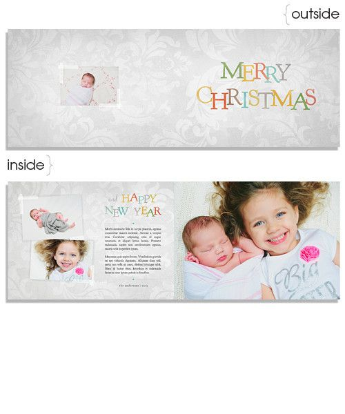 Jack Frost 7x5 Wide Format Card and Address Label --- http\/\/store - address label format