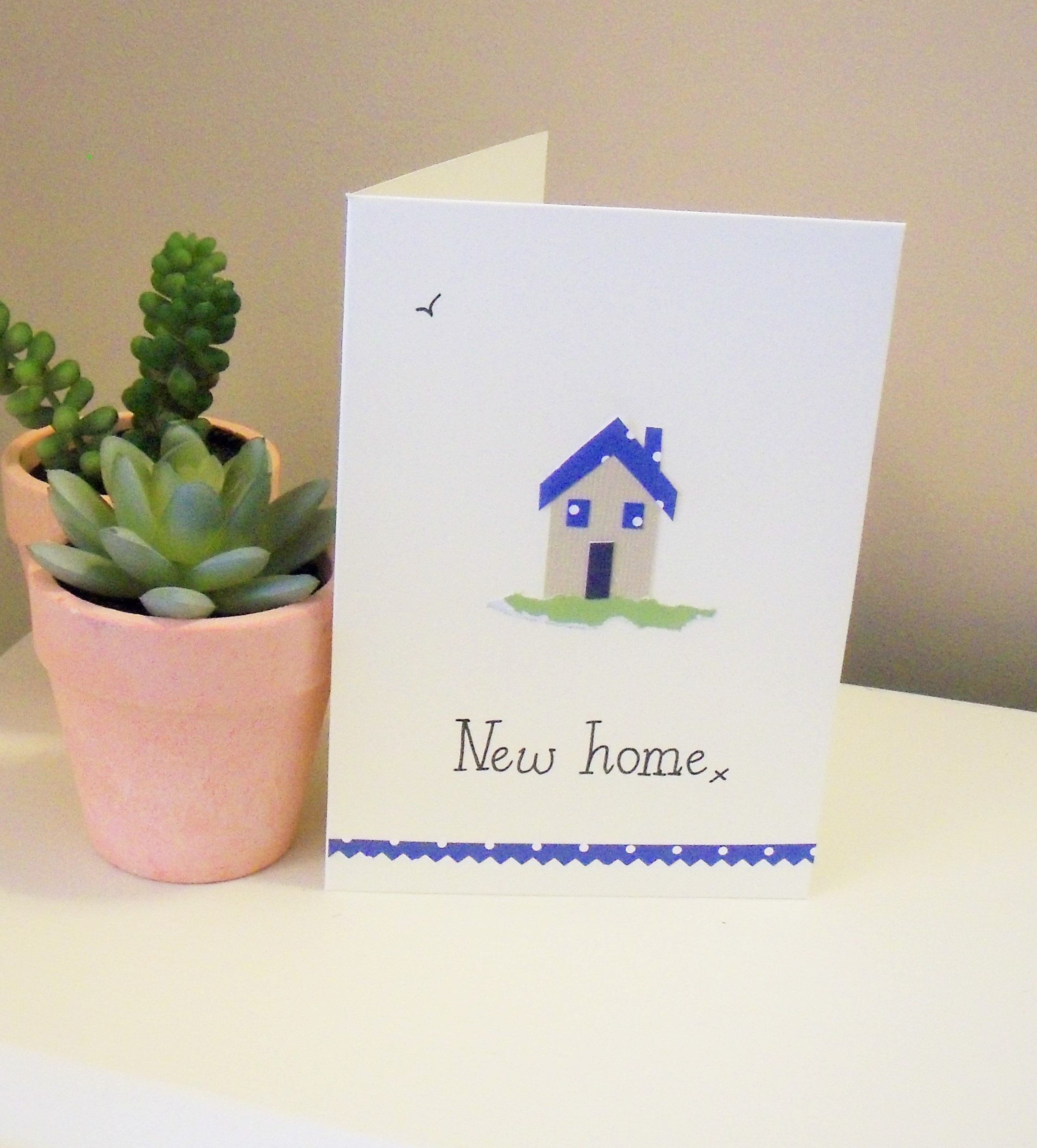 New house card, new home card, moving house card, new home gift ...