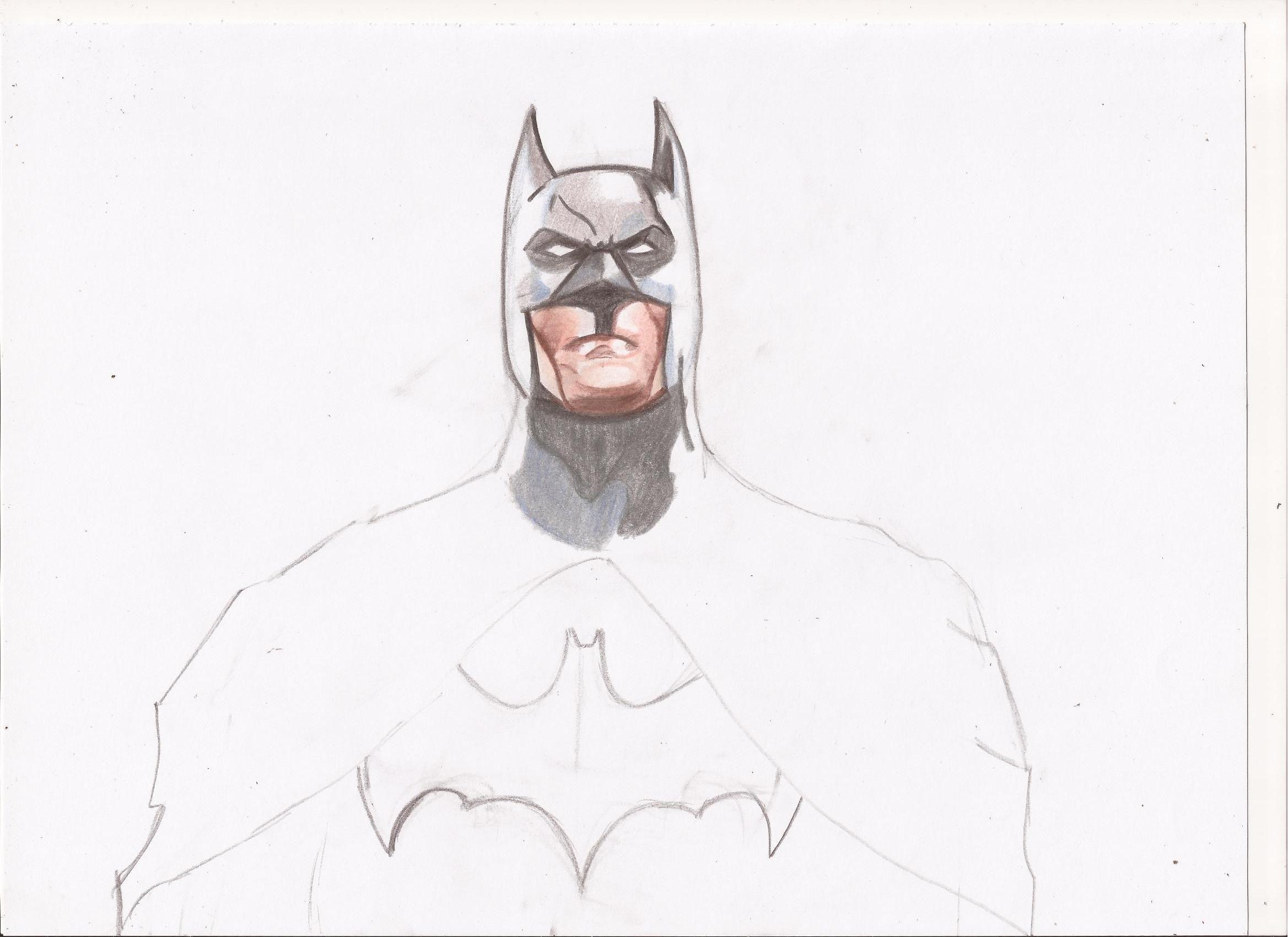 Como Dibujar A Batman Paso A Paso A Lapiz Facil Buscar Con Google
