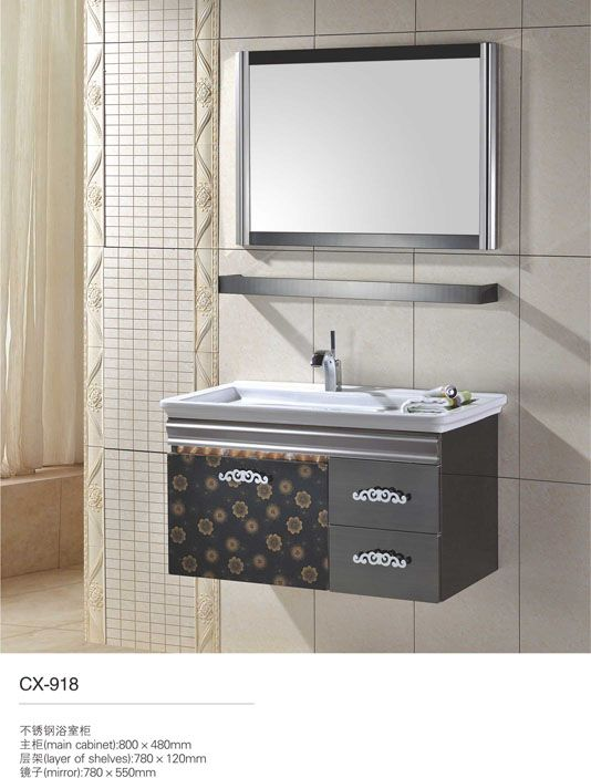 Wholesale Bathroom Vanities Small Vanity Sink Mirrored Bathroom