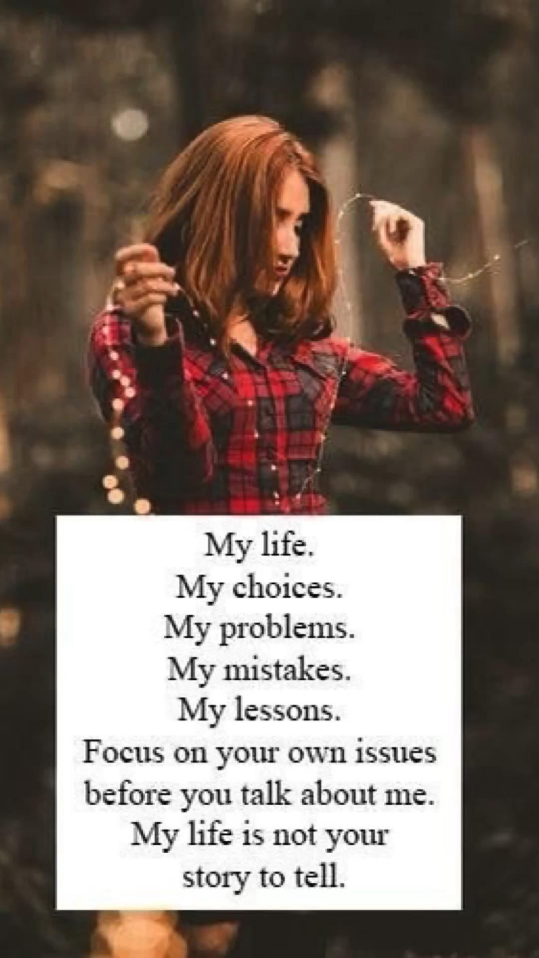 My life self quotes women