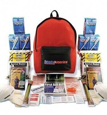3 Day 2 Person Emergency Kit Survival Backpack Food First Aid Mayday Gear Family #SurvivalGearBackpacks #firstaid