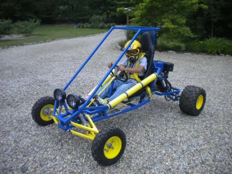 Custom Go Kart Frames | Customer Build of the Arachnid Go Kart ...