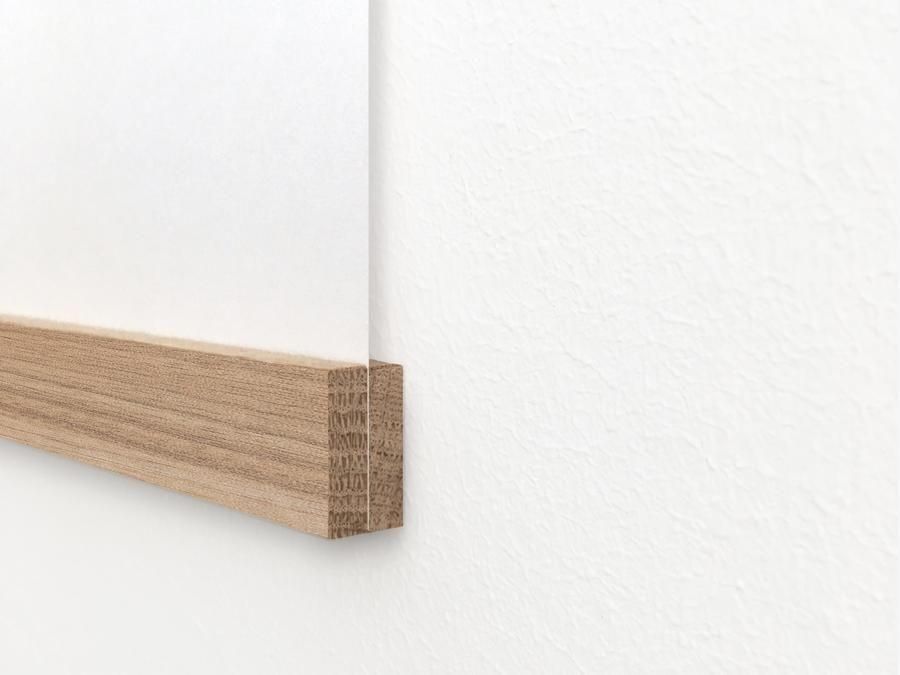 Magnetische Posterleiste Eiche Div Formate Typealive Posterleiste Eiche Holzleisten