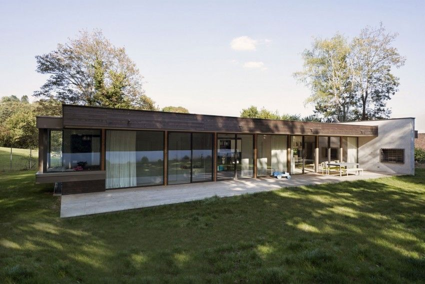 War House By A B Architectes Dplg House House Styles Architecture